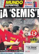 Portada Mundo Deportivo del 24 de Junio de 2012