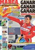 Portada diario Marca del 25 de Junio de 2012