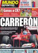 Portada Mundo Deportivo del 25 de Junio de 2012
