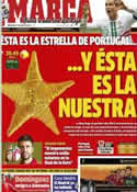 Portada diario Marca del 27 de Junio de 2012