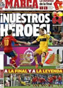 Portada diario Marca del 28 de Junio de 2012