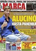 Portada diario Marca del 29 de Junio de 2012