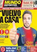 Portada Mundo Deportivo del 29 de Junio de 2012