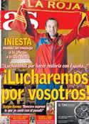 Portada diario AS del 30 de Junio de 2012