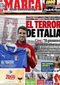 Portada diario Marca del 30 de Junio de 2012