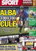 Portada diario Sport del 30 de Junio de 2012