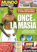 Portada Mundo Deportivo del 30 de Junio de 2012