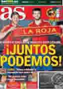 Portada diario AS del 1 de Julio de 2012