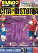 Portada Mundo Deportivo del 1 de Julio de 2012