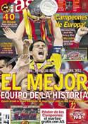 Portada diario AS del 2 de Julio de 2012