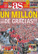 Portada diario AS del 3 de Julio de 2012