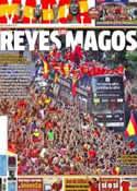 Portada diario Marca del 3 de Julio de 2012