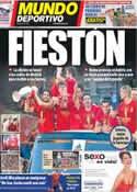 Portada Mundo Deportivo del 3 de Julio de 2012