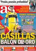 Portada diario AS del 4 de Julio de 2012