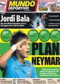 Portada Mundo Deportivo del 4 de Julio de 2012