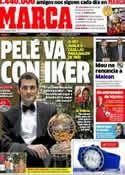 Portada diario Marca del 5 de Julio de 2012