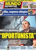 Portada Mundo Deportivo del 5 de Julio de 2012