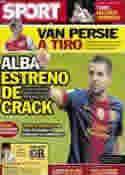 Portada diario Sport del 6 de Julio de 2012