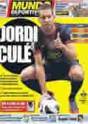 Portada Mundo Deportivo del 6 de Julio de 2012
