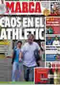 Portada diario Marca del 7 de Julio de 2012
