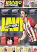 Portada Mundo Deportivo del 7 de Julio de 2012