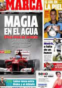 Portada diario Marca del 8 de Julio de 2012