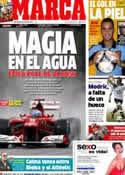 Portada diario Marca del 8 de Julio de 2012