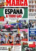 Portada diario Marca del 9 de Julio de 2012
