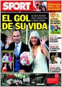 Portada diario Sport del 9 de Julio de 2012