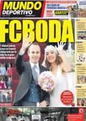 Portada Mundo Deportivo del 9 de Julio de 2012