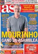 Portada diario AS del 11 de Julio de 2012