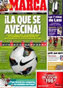 Portada diario Marca del 11 de Julio de 2012