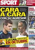 Portada diario Sport del 11 de Julio de 2012