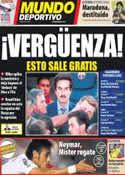 Portada Mundo Deportivo del 11 de Julio de 2012