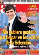 Portada diario AS del 12 de Julio de 2012