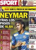 Portada diario Sport del 12 de Julio de 2012