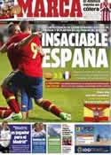 Portada diario Marca del 13 de Julio de 2012