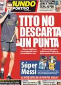 Portada Mundo Deportivo del 13 de Julio de 2012
