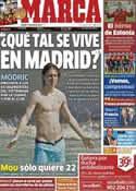 Portada diario Marca del 14 de Julio de 2012