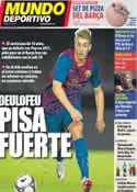 Portada Mundo Deportivo del 14 de Julio de 2012