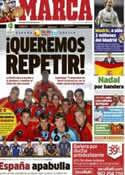 Portada diario Marca del 15 de Julio de 2012