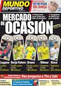 Portada Mundo Deportivo del 15 de Julio de 2012
