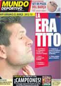 Portada Mundo Deportivo del 16 de Julio de 2012