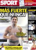 Portada diario Sport del 17 de Julio de 2012