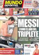 Portada Mundo Deportivo del 17 de Julio de 2012