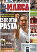 Portada diario Marca del 18 de Julio de 2012