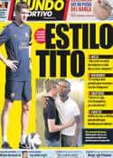 Portada Mundo Deportivo del 18 de Julio de 2012