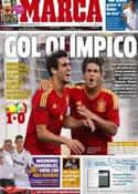 Portada diario Marca del 19 de Julio de 2012