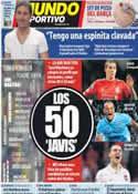 Portada Mundo Deportivo del 19 de Julio de 2012