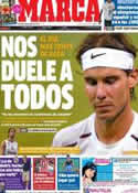 Portada diario Marca del 20 de Julio de 2012